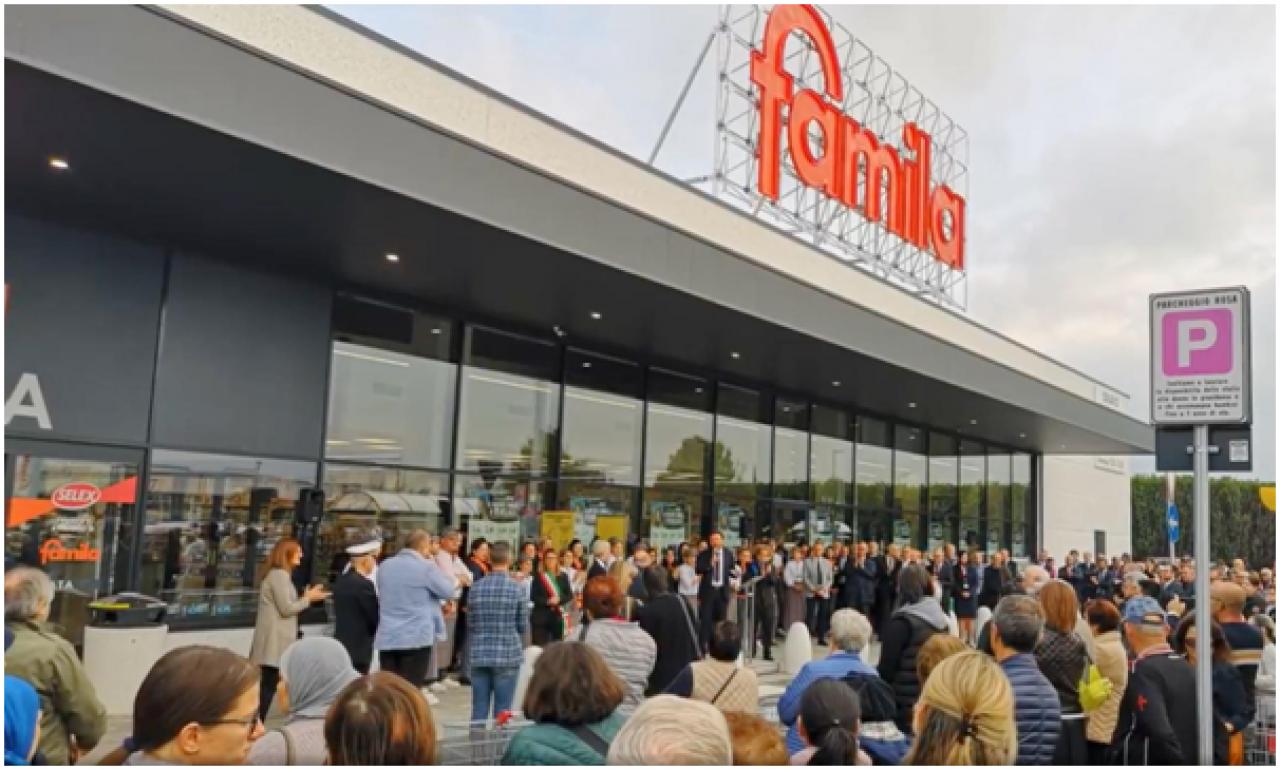 Inaugurato il nuovo supermercato FAMILA a Vedelago (TV)